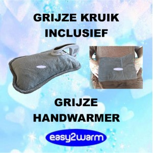 Advantage Package light Grey Electric Hot Water Bag, together with our light Grey Hand Warmer