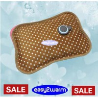 Rechargeable Electric Hot Water Bag - Bambi Brown Spotted - Last Chance Sale