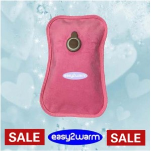 Rechargeable Electric Hot Water Bag - Pink - Last Chance Sale